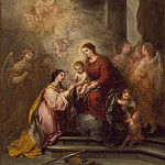 Los Angeles County Museum of Art (LACMA) - Bartolome Esteban Murillo - The Mystic Marriage of Saint Catherine