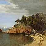 Los Angeles County Museum of Art (LACMA) - James Renwick Brevoort - Inside Eastern Point, Gloucester Bay