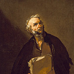 Jusepe de Ribera – A Philosopher, Los Angeles County Museum of Art (LACMA)