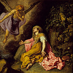 Pieter Lastman – Hagar and the Angel, Los Angeles County Museum of Art (LACMA)