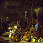 Teniers the Younger, David; Heem, Jan Davidsz de – An Artist in His Studio, Los Angeles County Museum of Art (LACMA)