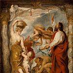 Los Angeles County Museum of Art (LACMA) - Peter Paul Rubens - Modello for ′The Israelites Gathering Manna in the Desert′