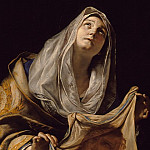 Los Angeles County Museum of Art (LACMA) - Mattia Preti - Saint Veronica with the Veil