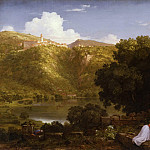 Los Angeles County Museum of Art (LACMA) - Thomas Cole - Il Penseroso