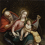 Unknown – The Holy Family with St. John the Baptist , Los Angeles County Museum of Art (LACMA)