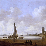 Jan van Goyen – View of Dordrecht, Los Angeles County Museum of Art (LACMA)