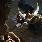 Ubaldo Gandolfi – Selene and Endymion, Los Angeles County Museum of Art (LACMA)