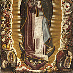 Los Angeles County Museum of Art (LACMA) - Manuel de Arellano - Virgin of Guadalupe (Virgen de Guadalupe)