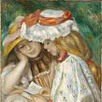 Two Girls Reading, Pierre-Auguste Renoir