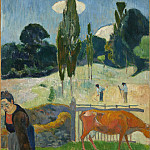Los Angeles County Museum of Art (LACMA) - Paul Gauguin - The Red Cow