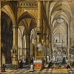 Paul Vredeman de Vries – Interior of Antwerp Cathedral, Los Angeles County Museum of Art (LACMA)