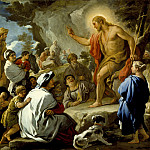 Luca Giordano – St. John the Baptist Preaching, Los Angeles County Museum of Art (LACMA)