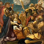 Giacomo Cavedone – Ascension of Christ, Los Angeles County Museum of Art (LACMA)