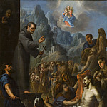 Juan Rodriguez Juarez [attributed to] – Miracles of Saint Salvador de Horta , Los Angeles County Museum of Art (LACMA)