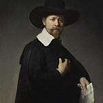 Rembrandt Harmensz. van Rijn – Portrait of Marten Looten, Los Angeles County Museum of Art (LACMA)