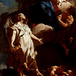 Giovanni Battista Piazzetta – The Virgin Appearing to the Guardian Angel, Los Angeles County Museum of Art (LACMA)