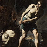 Andrea Vaccaro – David with the Head of Goliath, Los Angeles County Museum of Art (LACMA)