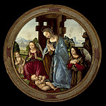 Los Angeles County Museum of Art (LACMA) - Tommaso - Virgin Adoring the Christ Child with St. John the Baptist and Two Angels