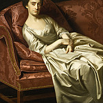 Los Angeles County Museum of Art (LACMA) - John Singleton Copley - Portrait of a Lady