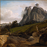 Theodore Caruelle d′Aligny – The Wetterhorn, Switzerland, Los Angeles County Museum of Art (LACMA)