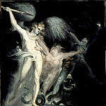 Los Angeles County Museum of Art (LACMA) - Henry Fuseli - Satan and Death with Sin Intervening