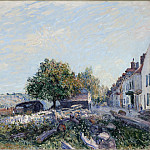 Los Angeles County Museum of Art (LACMA) - Alfred Sisley - Saint Mammes-Morning