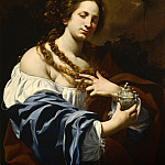 Los Angeles County Museum of Art (LACMA) - Simon Vouet - Virginia da Vezzo, the Artist′s Wife, as the Magdalen