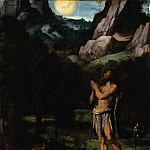 Los Angeles County Museum of Art (LACMA) - Moretto da Brescia - St. John the Baptist in the Wilderness