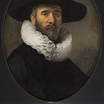 Rembrandt Harmensz. van Rijn – Portrait of Dirck Jansz Pesser, Los Angeles County Museum of Art (LACMA)