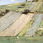 Theodore Robinson – Valley of the Seine, Giverny, Los Angeles County Museum of Art (LACMA)