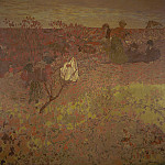 Walking in the Vineyard, Edouard Vuillard