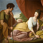 Benjamin West – Cymon and Iphigenia, Los Angeles County Museum of Art (LACMA)