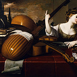 Nicolas Regnier – Divine Inspiration of Music, Los Angeles County Museum of Art (LACMA)