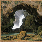 Los Angeles County Museum of Art (LACMA) - Johann Martin von Rohden - The Grotto of Neptune in Tivoli
