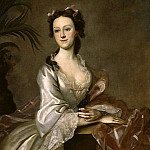 Los Angeles County Museum of Art (LACMA) - Joseph B. Blackburn - Portrait of Mrs. John Pigott