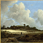 View of Grainfields with a Distant Town, Jacob Van Ruisdael