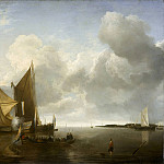 Jan van de Cappelle – Ships in a Calm, Los Angeles County Museum of Art (LACMA)