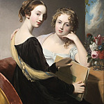 Los Angeles County Museum of Art (LACMA) - Thomas Sully - Portrait of the Misses Mary and Emily McEuen