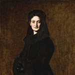 Los Angeles County Museum of Art (LACMA) - Jean-Jacques Henner - Portrait of Madame Paul Duchesne-Fournet