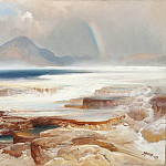 Los Angeles County Museum of Art (LACMA) - Thomas Moran - Hot Springs of the Yellowstone
