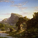 Thomas Cole – L′Allegro, Los Angeles County Museum of Art (LACMA)