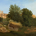 View of Ariccia, Gustaf Wilhelm Palm
