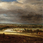 Los Angeles County Museum of Art (LACMA) - Philips Koninck - Panoramic Landscape with a Village