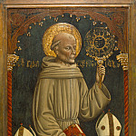 Los Angeles County Museum of Art (LACMA) - Dario di Giovanni - Saint Bernardino of Siena