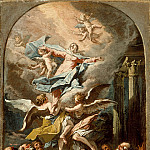 Los Angeles County Museum of Art (LACMA) - Gaspare Diziani - The Assumption of the Virgin