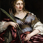 Los Angeles County Museum of Art (LACMA) - Pietro Berrettini (called Pietro da Cortona) - St. Martina