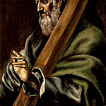Los Angeles County Museum of Art (LACMA) - El Greco [school of] - The Apostle St. Andrew