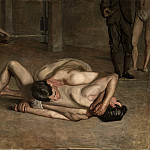 Thomas Eakins – Wrestlers, Los Angeles County Museum of Art (LACMA)