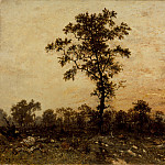 Los Angeles County Museum of Art (LACMA) - Pierre Etienne Theodore Rousseau - Edge of the Forest, Sun Setting