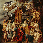 Los Angeles County Museum of Art (LACMA) - Jacob Jordaens - Allegory of the Poet